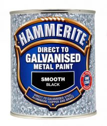Hammerite Smooth White Direct To Galvanised Paint