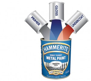 Hammerite Direct to Rust Metal Paint Primer, Undercoat and Topcoat in one can