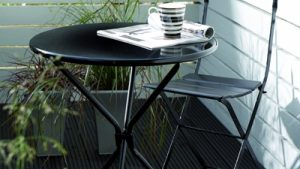 Hammerite Metal Paint Outdoor Table Chairs